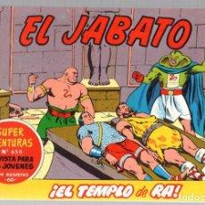 Tebeos: EL JABATO. SUPER AVENTURAS. NUM. 77-78-206-221. REEDICION. Lote 184924922