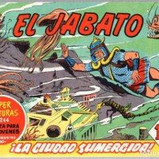 Tebeos: EL JABATO. SUPER AVENTURAS. NUM. 65-130-210-224. REEDICION. Lote 184925751