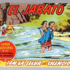 Tebeos: EL JABATO. SUPER AVENTURAS. NUM. 118-129-222-239. REEDICION. Lote 184925920