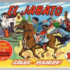 Tebeos: EL JABATO. SUPER AVENTURAS. NUM. 67-68-72-199. REEDICION. Lote 184926196