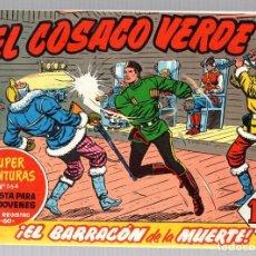 Tebeos: EL COSACO VERDE. SUPER AVENTURAS. NUM. 95-96-97-98. REEDICION. Lote 184926676