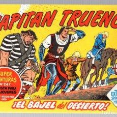 Tebeos: EL CAPITAN TRUENO. SUPER AVENTURAS. NUM. 156-157-167-172. REEDICION. Lote 184928287