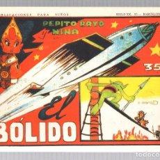 Tebeos: PEPITO RAYO Y NINA. G. IRANZO. EL BOLIDO. REEDICION. Lote 184929687