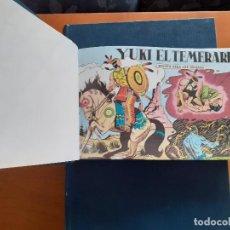 Tebeos: OFERTA : YUKI EL TEMERARIO, COMPLETA. ENCUADERNADA EN TRES TOMOS. . Lote 187162616