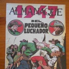 Tebeos: ALMANAQUE DEL PEQUEÑO LUCHADOR 1947 - REEDICION (GR). Lote 187166671