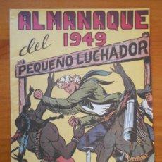 Tebeos: ALMANAQUE DEL PEQUEÑO LUCHADOR 1949 - REEDICION (GR). Lote 187167048