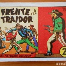 Tebeos: EL PEQUEÑO LUCHADOR Nº 2 - FRENTE AL TRAIDOR - FACSIMIL (GR). Lote 187169830