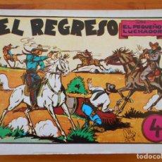Tebeos: EL PEQUEÑO LUCHADOR Nº 4 - EL REGRESO - FACSIMIL (GR). Lote 187170758