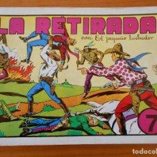 Tebeos: EL PEQUEÑO LUCHADOR Nº 7 - LA RETIRADA - FACSIMIL (GR). Lote 187171523