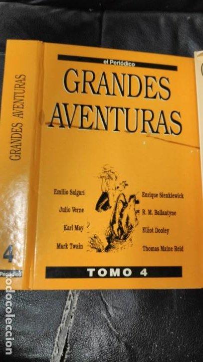 TOMO Nº 4 GRANDES AVENTURAS CONTIENE LOS 25 COMICS QUE FORMAN EL TOMO (Tebeos y Comics - Tebeos Reediciones)
