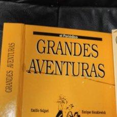 Tebeos: TOMO Nº 4 GRANDES AVENTURAS CONTIENE LOS 25 COMICS QUE FORMAN EL TOMO. Lote 187378908