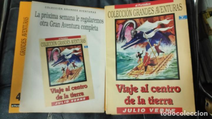 Tebeos: TOMO Nº 4 GRANDES AVENTURAS CONTIENE LOS 25 COMICS QUE FORMAN EL TOMO - Foto 3 - 187378908