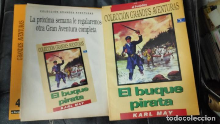 Tebeos: TOMO Nº 4 GRANDES AVENTURAS CONTIENE LOS 25 COMICS QUE FORMAN EL TOMO - Foto 4 - 187378908