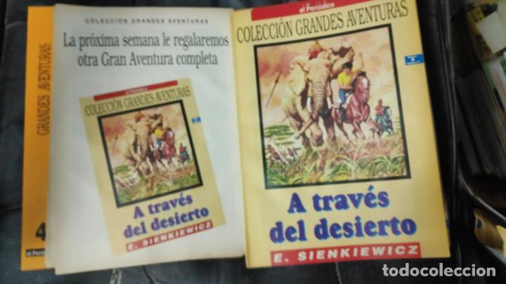Tebeos: TOMO Nº 4 GRANDES AVENTURAS CONTIENE LOS 25 COMICS QUE FORMAN EL TOMO - Foto 5 - 187378908