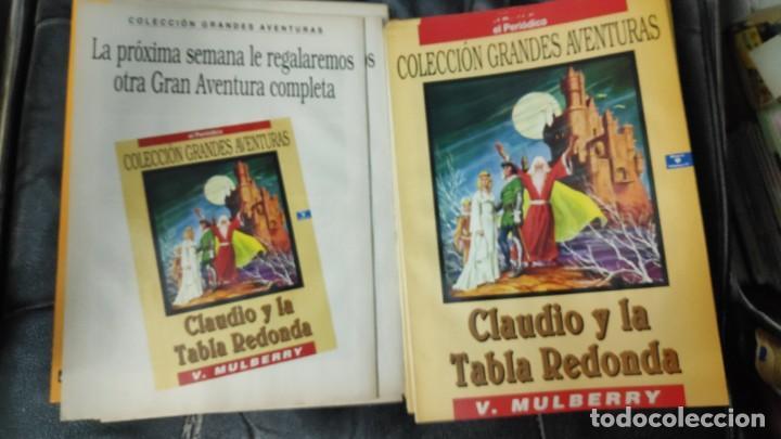 Tebeos: TOMO Nº 4 GRANDES AVENTURAS CONTIENE LOS 25 COMICS QUE FORMAN EL TOMO - Foto 10 - 187378908