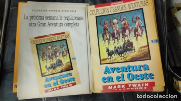 Tebeos: TOMO Nº 4 GRANDES AVENTURAS CONTIENE LOS 25 COMICS QUE FORMAN EL TOMO - Foto 13 - 187378908