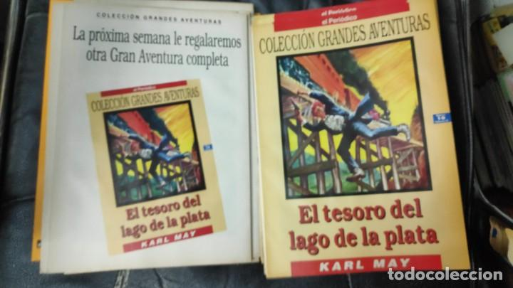 Tebeos: TOMO Nº 4 GRANDES AVENTURAS CONTIENE LOS 25 COMICS QUE FORMAN EL TOMO - Foto 14 - 187378908