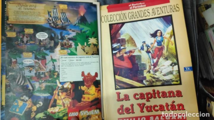 Tebeos: TOMO Nº 4 GRANDES AVENTURAS CONTIENE LOS 25 COMICS QUE FORMAN EL TOMO - Foto 15 - 187378908