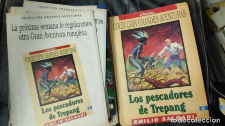 Tebeos: TOMO Nº 4 GRANDES AVENTURAS CONTIENE LOS 25 COMICS QUE FORMAN EL TOMO - Foto 23 - 187378908