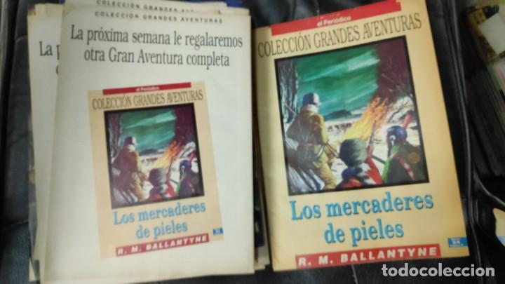 Tebeos: TOMO Nº 4 GRANDES AVENTURAS CONTIENE LOS 25 COMICS QUE FORMAN EL TOMO - Foto 25 - 187378908