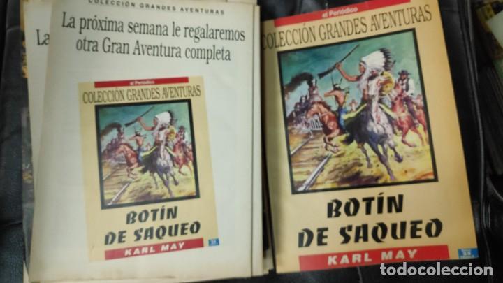 Tebeos: TOMO Nº 4 GRANDES AVENTURAS CONTIENE LOS 25 COMICS QUE FORMAN EL TOMO - Foto 26 - 187378908