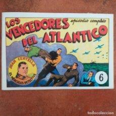 Tebeos: JUAN CENTELLA - LOS VENCEDORES DEL ATLÁNTICO + LA MINA SEPULTADA. NUM 6. REEDICION . Lote 187434182