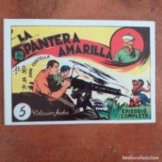 Tebeos: JUAN CENTELLA - LA PANTERA AMARILLA + LA PEÑA DEL SILENCIO. NUM 5. REEDICION . Lote 187437516