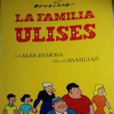 Tebeos: LA FAMILIA ULISES. LA MÁS FAMOSA DE LAS FAMILIAS. SELECCIÓN DE 1944-1970. 140 PÁGINAS. Lote 187470382