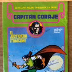 Tebeos: CAPITAN CORAJE Nº 1 - G. IRANZO - URSUS EDICIONES -1982. Lote 187517492