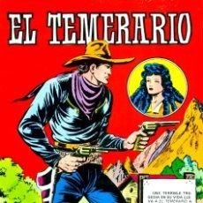 Tebeos: EL TEMERARIO (VALENCIANA, 1981) COLECCIÓN COMPLETA: 10 NÚMEROS. DE MANUEL GAGO. Lote 187542910