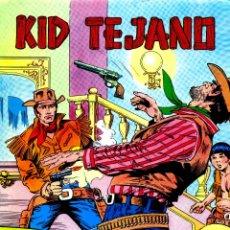 Tebeos: KID TEJANO (VALENCIANA, 1979) 1 AL 28 (DE 34) DE IBAÑEZ. . Lote 187543116