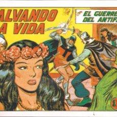 Tebeos: EL GUERRERO DEL ANTIFAZ Nº 214. SALVANDO LA VIDA. Lote 190434917