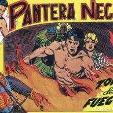 BDs: PANTERA NEGRA Nº 48 / TORRE DE FUEGO. Lote 190501897