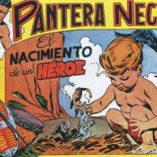 BDs: PANTERA NEGRA Nº 52 / EL NACIMIENTO DE UN VALIENTE. Lote 190502057