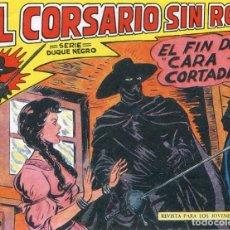 Giornalini: EL CORSARIO SIN ROSTRO Nº 10 / EL FIN DE CARA CORTADA. Lote 190502956