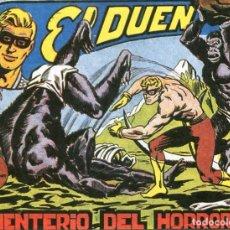 Tebeos: EL DUENDE Nº 41 / ¡EL CEMENTERIO DEL HORROR!. Lote 190614571