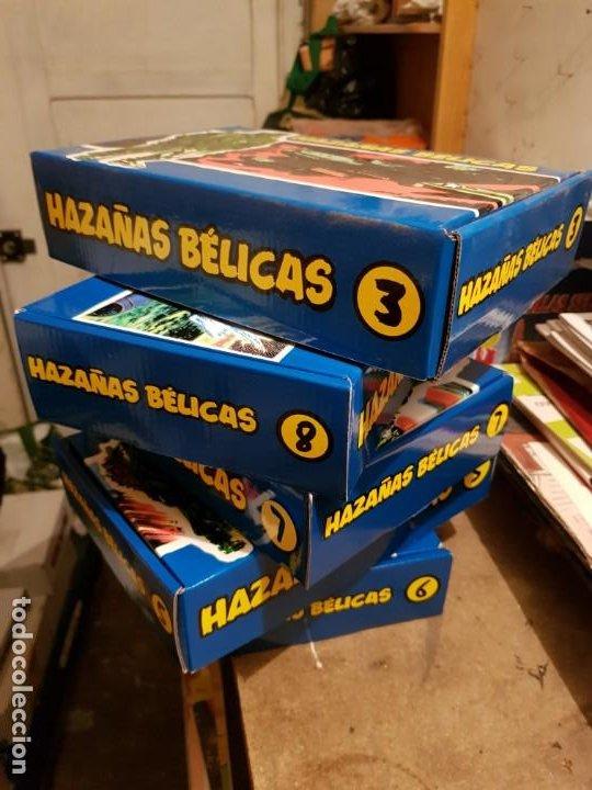 Tebeos: GRAN LOTE TEBEOS / CÓMIC NUEVOS HAZAÑAS BÉLICAS 2 PARTE COMPLETA CON CAJA N 3-5-6-7-8 FACSÍMIL TORAY - Foto 6 - 191251970