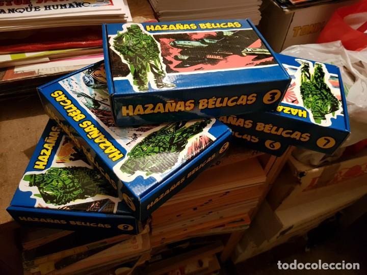 Tebeos: GRAN LOTE TEBEOS / CÓMIC NUEVOS HAZAÑAS BÉLICAS 2 PARTE COMPLETA CON CAJA N 3-5-6-7-8 FACSÍMIL TORAY - Foto 7 - 191251970