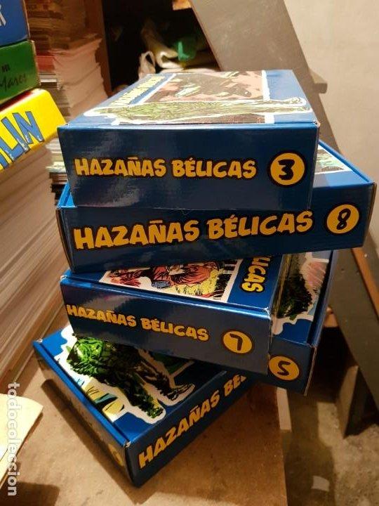 Tebeos: GRAN LOTE TEBEOS / CÓMIC NUEVOS HAZAÑAS BÉLICAS 2 PARTE COMPLETA CON CAJA N 3-5-6-7-8 FACSÍMIL TORAY - Foto 8 - 191251970