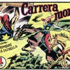 Tebeos: EL HOMBRE DE LA ESTRELLA Nº 22 / CARRERA MORTAL. Lote 191332332