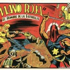 Tebeos: EL HOMBRE DE LA ESTRELLA Nº 23 / MANO ROJA. Lote 191332351