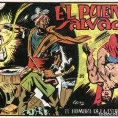 Tebeos: EL HOMBRE DE LA ESTRELLA Nº 25 / EL PUENTE SALVADOR. Lote 191332433