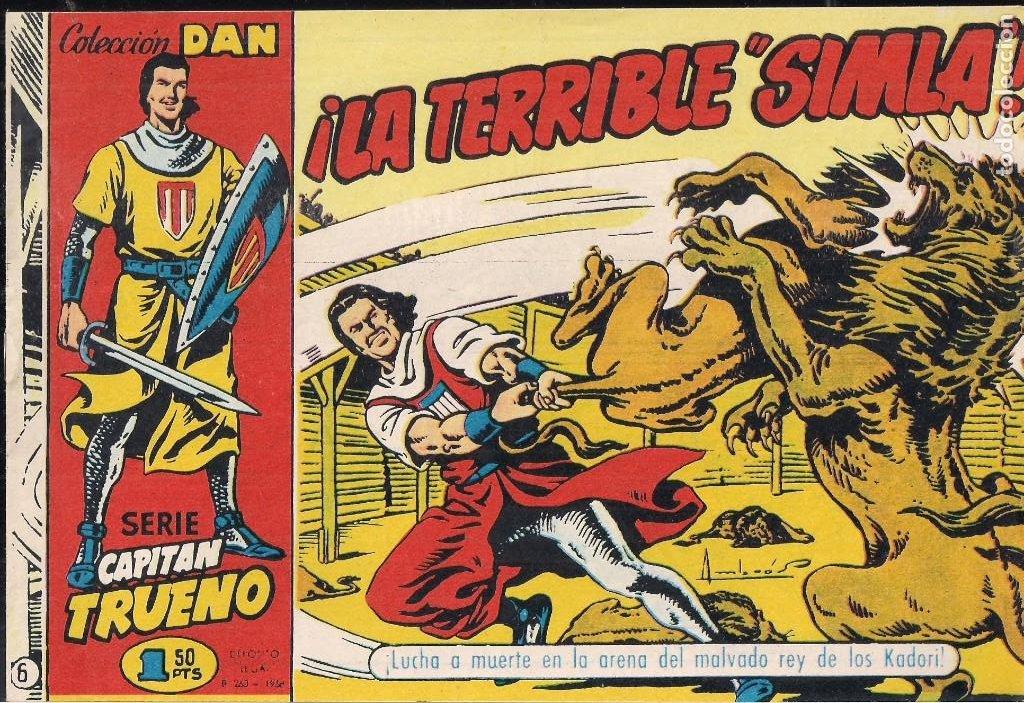 EL CAPITÁN TRUENO. COLECCIÓN DAN Nº 6 (Tebeos y Comics - Tebeos Reediciones)