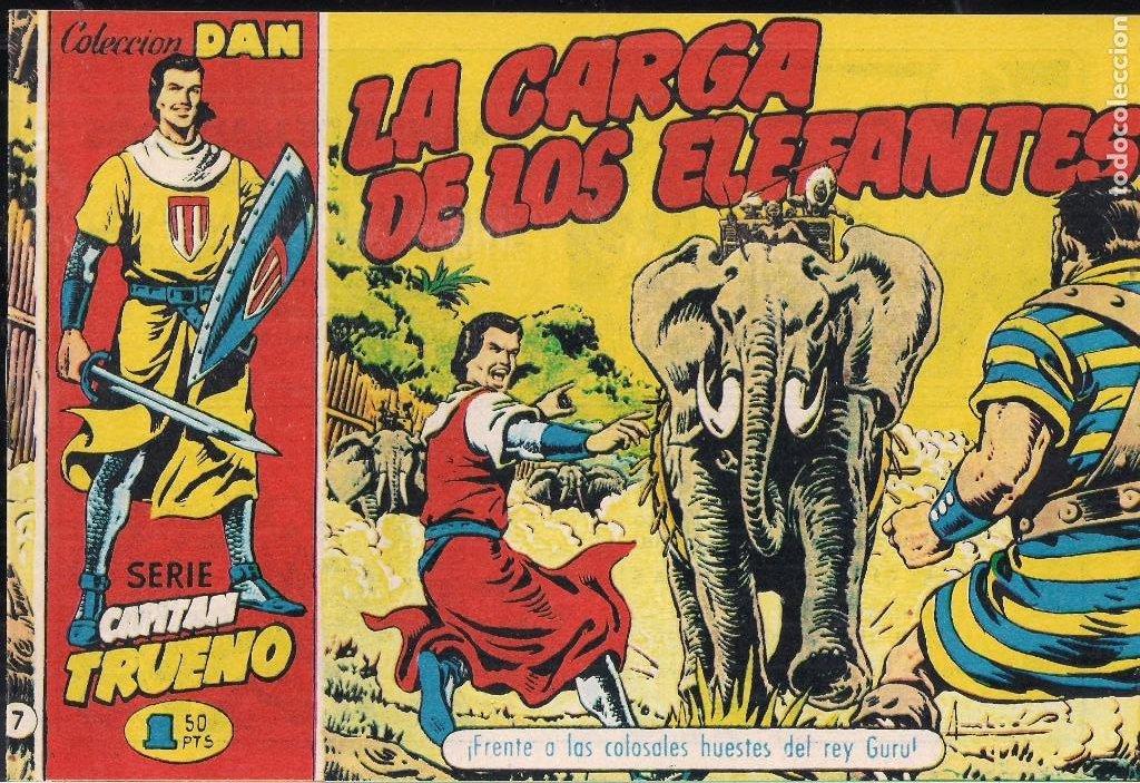 EL CAPITÁN TRUENO. COLECCIÓN DAN Nº 7 (Tebeos y Comics - Tebeos Reediciones)