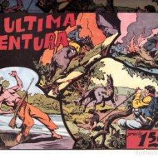Tebeos: LA ULTIMA AVENTURA REEDICION. Lote 191561898