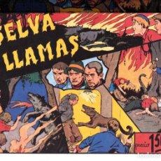 Tebeos: LA SELVA EN LLAMAS REEDICION. Lote 191562178