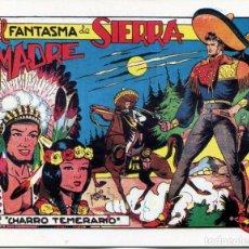 Giornalini: EL CHARRO TEMERARIO / Nº 37 EL FANTASMA DE SIERRA MADRE. Lote 192041088