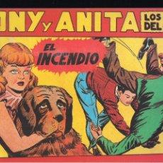 Tebeos: TONY Y ANITA Nº 9. Lote 192638180