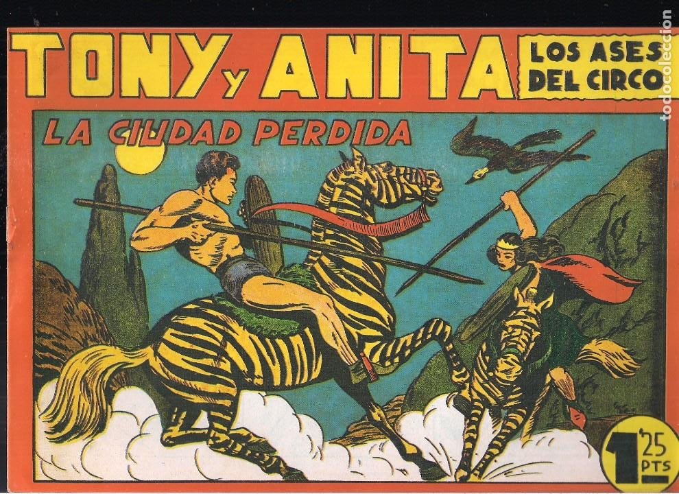 TONY Y ANITA Nº 19 (Tebeos y Comics - Tebeos Reediciones)