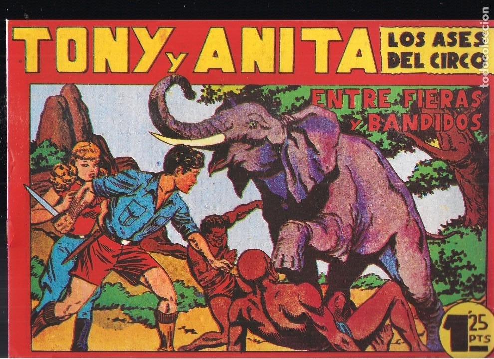 TONY Y ANITA Nº 21 (Tebeos y Comics - Tebeos Reediciones)
